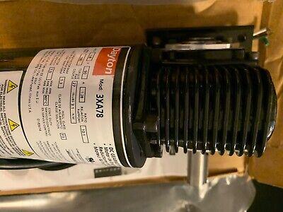 Dayton Dc Gear Motor Model 3xa78 90vdc 180rpm Max Torque 27 In-lb 58 Shaft
