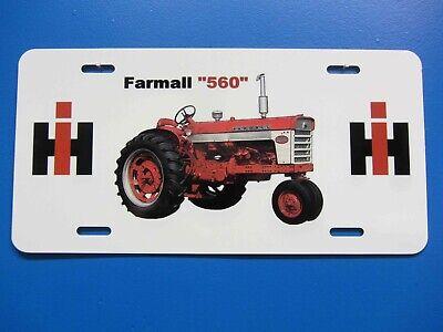 Farmall 560 License Plate