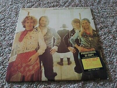 Super Rare Abba Waterloo Promo Promotional Dj Copy Vinyl Record Lp