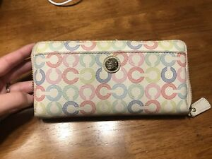 Two coach wallets