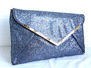 Evening Bags And Clutches Pewter Ahoy Comics