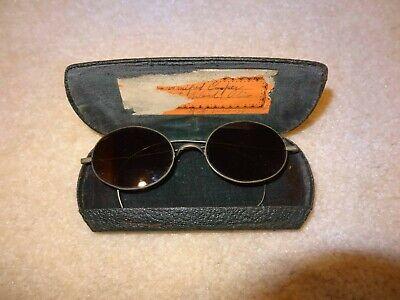 Funky Vintage Steampunk Wire Rim Sunglasses