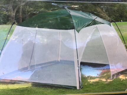 Sun shade screen tent & Coleman Bigfoot cv 6 person tent | Other Home u0026 Garden | Gumtree ...