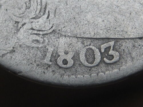 1803 Draped Bust Silver Dime- VERY Rare!