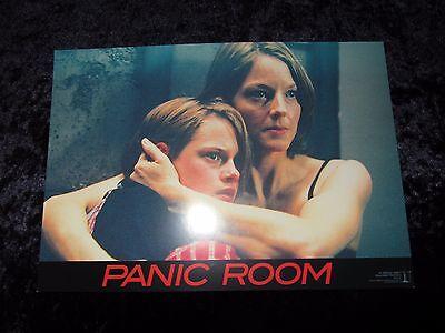 Panic Room lobby cards/stills - Jodie Foster, Kristen Stewart