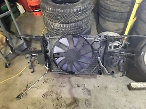 Front end clip, rad, fan & a/c condenser Mercedes s430/s500