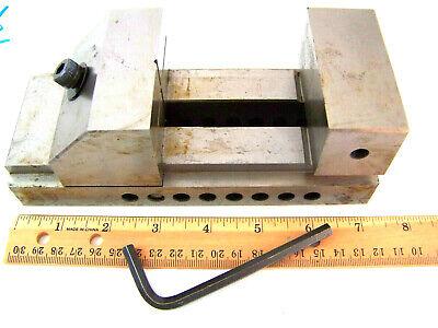 Vintage Precision Machinist Toolmaker Vise W 3 Inche Jaws