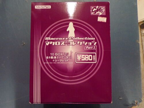 MACROSS Collection Part 2 Trading Figure display box