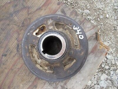 Farmall 340 Tractor Ih Ihc Engine Motor Crankshaft Main Crank Front Belt Pulley