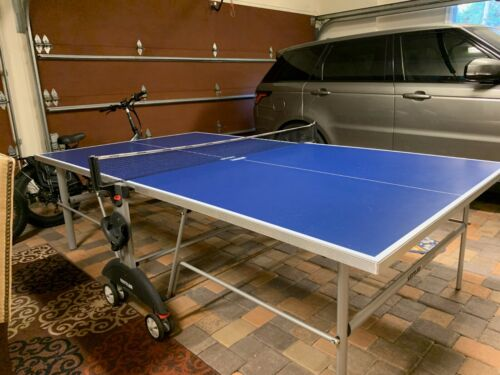 Kettler TopStar XL Indoor/Outdoor Table Tennis Ping Pong Blue Top Made Germany