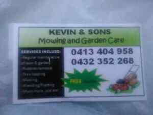 Kevin & son's lawn & garden service's Ingleburn Campbelltown Area Preview