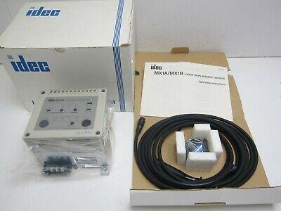Idec Mx1a Laser Displacement Sensor Pn Mx1a-mk685b New