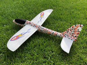 EPP Foam Far Distance Hand Throw Launch Glider Airplane Gift Kids Toy US Seller