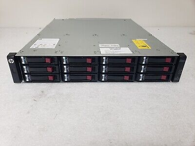 HP FCLSE-0801 StorageWorks Rack Mount Enclosure Array Chassis No HDD +2x PSU