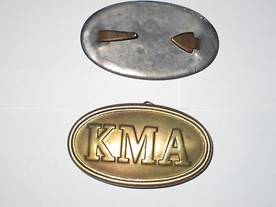 Kentucky Military Academy Civil War era belt buckle