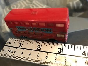 VINTAGE AND VERY RARE MAJORETTE BRITISH BUS No 286