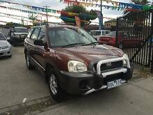 2002 HYUNDAI SANTA FE 4 CYLINDER 5 SP CHEAP 4X4 WAGON!!! Altona North Hobsons Bay Area Preview