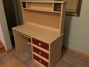 Desk with upper unit (Palliser brand) FREE DELIVERY