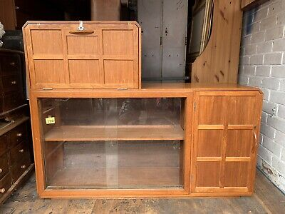 Mid centry Furniture Mid Centry Sideboard Project Restore Display Drinks Cabinet