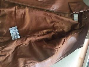 Soft brown leather jacket Dee Why Manly Area Preview