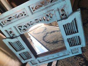 Coastal chic mirror
