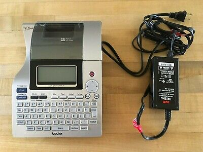 Brother P-touch Pt-2700 Thermal Printer W Power Cable