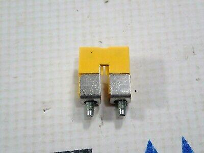 Weidmuller 1052560000 Terminal Block Jumper 2 Way 10mm New Box Of 50