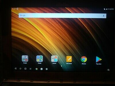 Lenovo Yoga Book YB1-X90F, Android, 64GB, Wi-Fi, 10.1in w/case PLEASE READ