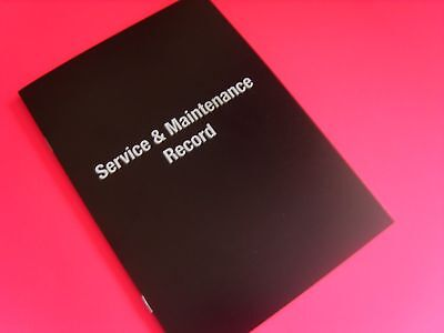 BLANK SERVICE BOOK UNSTAMPED ALL MODEL SKODA CITIGO FABIA ROOMSTER RAPID OCTAVIA