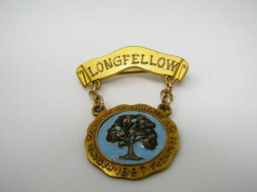 1933 Longfellow National Congress of Parents and Teachers Pin