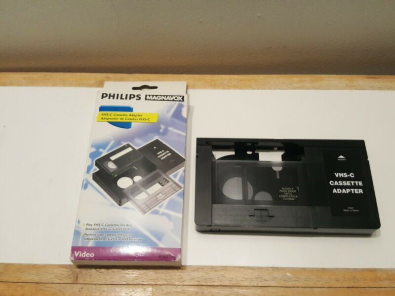 Philips Magnavox VHS-C Cassette Adapter (PM61300)