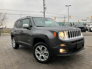 2018 Jeep Renegade LIMITED 4X4**POWER SUNROOF**NAVIGATION**