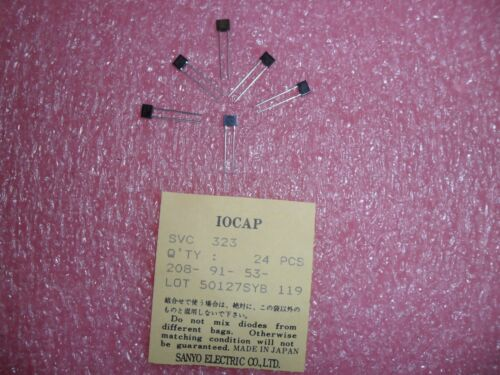 SVC323 SANYO VARACTOR DIODE FOR LOW VOLTAGE ELECTRONIC TUNING (LOT OF 10)
