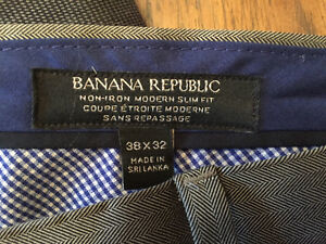 Banana Republic Men's Dress Pants all 3 for $60
