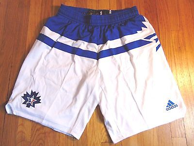 """ADIDAS NBA AUTHENTIC TORONTO USA 2016 EAST ALL-STAR GAME SHORTS SIZE L+2"""""""
