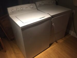 Washer, Dryer set. Hotpoint.