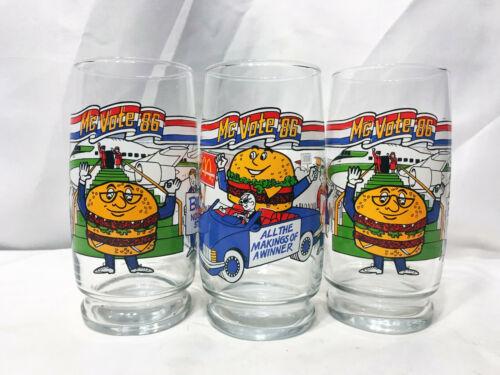 3x 1986 McDonald
