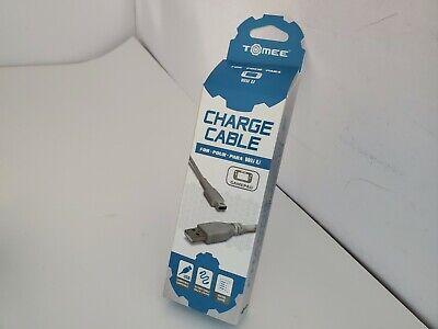 Nuevo Tomee Cargador USB Cable Con 3M Cable Para Nintendo Wii U...