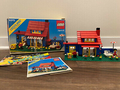 LEGO City 6372 Town House with Instructions and Box 100% Complete Vintage