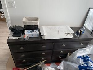 Chest of drawers brown-$60