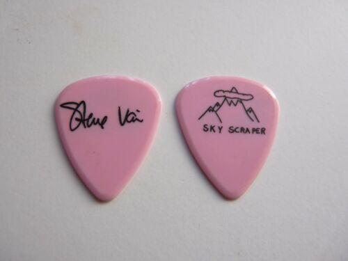 STEVE VAI DAVID LEE ROTH SKY SCRAPER 1988 TOUR ISSUED GUITAR PICK PINK
