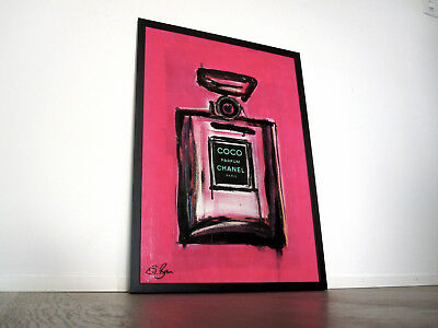 Chanel Perfume Bottle Pop Art - Urban - Modern Art - Fashion Lifestyle ORIGINAL