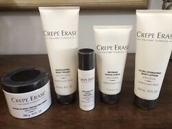 Crepe Erase Tru Firm Complex Five Piece Kit -New, Sealed Full Size
