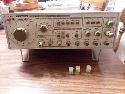 Leader Lfg-1310 Function Generator Ecg Oscilloscope Probe Model Pr 60