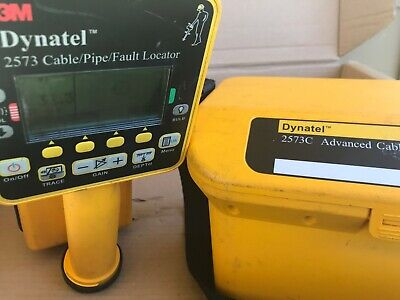 3m Dynatel 2573c Advanced Cable Pipe Fault Locator Transmitter Receiver 2573-c3