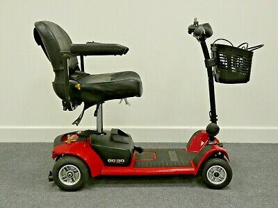 Pride Go Go Ultra X Mobility Scooter in Red VGC Lightweight & fits in car boot
