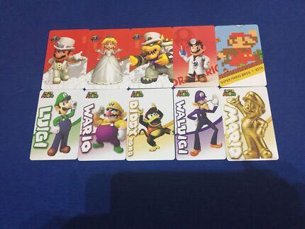 Super Mario odyssey Amiibo NFC cards Switch