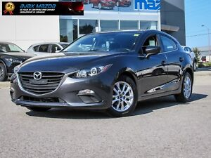 2015 Mazda3 GS Sport Hatchback with 6-speed Manual Transmission