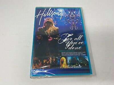 Hillsong - For All You've Done (DVD,2004) RARE!! Live Worship! Brand NEW SEALED