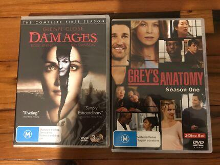 Greys Anatomy/Damages DVD | CDs & DVDs | Gumtree Australia Melville ...